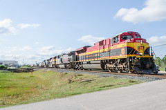 KCS 4152 (gameover340) Tags: train louisiana tracks kcs manifest ges kansascitysouthern ac44cw sd70ace emds beaumontsubdivision mshpa
