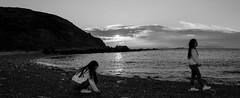 panor Oiartz (titxo1971) Tags: primavera atardecer mar playa bizkaia euskadi piedras panormica barrika adolescencia horaazul