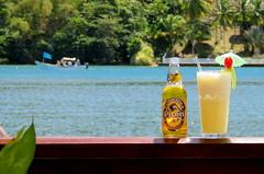 Missing from previous photo (oobwoodman) Tags: beer cerveza piton caribbean bier birra stlucia bire pivo l l carabes marigotbay westindies karibik piacolada saintlucia doolittles