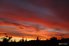 Moorpark Big Sky Sunset (Alfred J. Lockwood Photography) Tags: california sunset summer nature silhouette clouds landscape twilight southerncalifornia moorpark alfredjlockwood