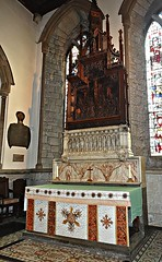 [41013] Bakewell : High Altar (Budby) Tags: church derbyshire peakdistrict altar bakewell reredos peaknationalpark