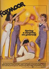 FoxMoor 1981 (moogirl2) Tags: vintage retro 80s 1981 jumpsuits seventeen foxboro vintageads 80sfashion
