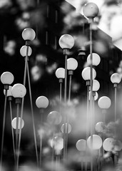 black and white cherryblossombokeh (Mange J) Tags: blackandwhite bw art lamp contrast lights se pentax random sweden bokeh cherryblossom sverige lamps malmö svartvit svartvitt skånelän cherryblossombokeh pentaxart fotosondag magnusjakobsson k5ii fs160410