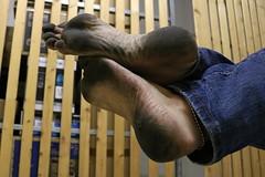 dirty party feet 574 (dirtyfeet6811) Tags: feet barefoot soles dirtyfeet dirtysoles blacksoles