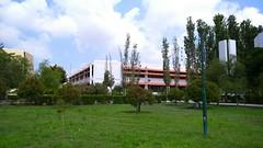 جامعة تشرين (nesreensahi) Tags: park flowers trees sky people plants sun nature landscape university syria siria سوريا syrie latakia اللاذقية سورية جامعة
