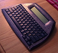 "Alphasmart Neo ""Moon Rock"" (dw5454) Tags: writing mod keyboard paint photobooth laptop painted text dana writer alphasmart neo wordprocessor gadget custom alphasmartneo neo2 neo1 alphasmartdana"