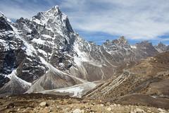 Cholatse (D A Scott) Tags: bridge nepal camp mountains trek asia lakes bazaar everest base himalayas gokyo namche