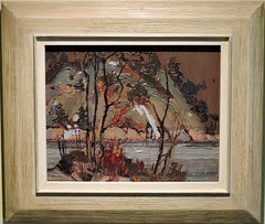 Early Spring in Cauchon Lake (Will S.) Tags: ontario canada art gallery artgallery canadian trunks emilycarr mypics kleinburg aboriginalart canadiana groupofseven tomthomson mcmichael mcmichaelcanadianartcollection mcmichaelgallery