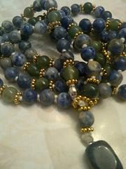 11227867_1576247476024959_7732529628373287205_n (innerjewelz@rogers.com) Tags: handmade traditional jewelry jewellery meditation custom mala 108 mantra intention knotted japamala innerjewelz