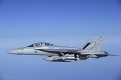 "EA-18G ""Growler"" (BuNo 166895) (aeroman3) Tags: air f18 usnavy italie nato avion opex trapani superhornet sicile norad fa18f cplmarcandregaudreault opmobile11"