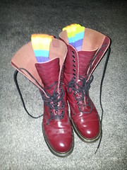 20160310_073839 (rugby#9) Tags: original feet yellow socks cherry boot shoe hole boots lace dr air 14 7 icon wear size stitching comfort sole doc 1914 cushion soles dm docs eyelets drmartens bouncing airwair docmartens martens dms stripedsocks cushioned wair doctormarten 14hole multicolouredsocks yellowstitching