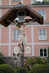 Jesus on cross (quinet) Tags: alps salzburg austria tirol sterreich inri tyrol autriche 2014 tyrolia