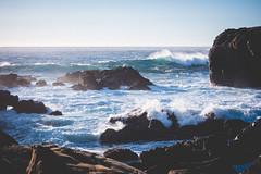 Point-Lobos-2 (hotcommodity) Tags: ocean california sunset wild beach nature water monterey waves highway1 pacificocean westcoast seamist beautifulearth turquoisewater bigsurhighway pointlobosstatenaturalreserve