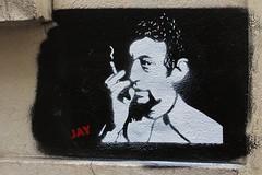 Jay_1666 rue Alphand Paris 13 (meuh1246) Tags: streetart paris jay cigarette fumeur butteauxcailles gainsbourg paris13 ruealphand
