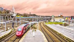 Thalys 4343  Luik-Guillemins (Tren di Cdrico) Tags: train belgium belgi emu alstom luik tgv trein lige hst thalys nmbs sncb luikguillemins