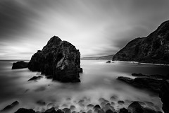 So Miguel, Azores islands (fsanty) Tags: ocean longexposure morning sky portugal nature water monochrome rock clouds darkroom canon landscape island eos blackwhite soft mood softness trails canonef1740mmf4lusm azores somiguel vsco canoneos5dmarkii 5dmkii