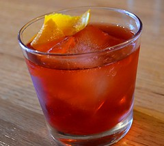 Negroni Time (pjpink) Tags: bar virginia spring richmond cocktail april gin campari rva lucys negroni 2016 jacksonward pjpink
