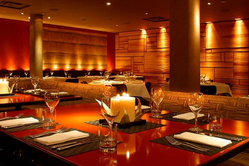Monsoon Restaurant by Yabu Pushelberg
