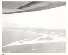 cape point 15June1968 (CapeHatterasNPS) Tags: capehatteras aerialphotograph hydrology capehatterasnationalseashore