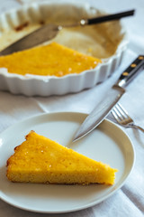 Ricotta almond lemon cake (stijn) Tags: food almond ricotta polenta watatenzijnl