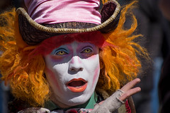 Mad as a hatter (cuppyuppycake) Tags: portrait hair town costume nikon market alice camden wig mad wonderland hatter d7200
