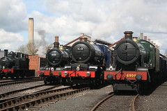 Didcot Railway Centre April 30 2016 (lozenge57) Tags: uk railway steam coaches locomotives wagons gwr dicot greatwesternrailway greatwesternsociety