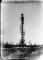Valassaaret; majakka lhikuvassa (KansallisarkistoKA) Tags: lighthouse beacon 1896 majakka valassaaret
