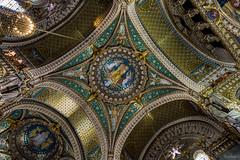 Fourvire basilica (raphael-g) Tags: church architecture gold nikon paint lyon or basilica ceiling gild sculture lover glise auvergne plafond basilique rhone fourvire catholique dorure rhnealpe d5200 onlylyon