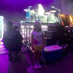 #Repost @bkerchofficial: My little one loving it tonight. #worldtour2016 #Boom #Shinedown #travel #dammit #family. #BarryKerch (ShinedownsNation) Tags: zach eric bass nation smith barry brent myers shinedown kerch shinedowns