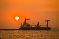 2015 (Yi-Liang Lai) Tags: ocean sea water canon harbor boat ship taiwan kaohsiung      freighter    kaohsiungcity canon6d