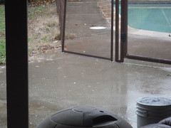 DSCF1169.JPG WY 2016 Storm 29 (niiicedave) Tags: california rain fence bucket afternoon drip fresno daytime splash centralcalifornia sanjoaquinvalley wetpavement