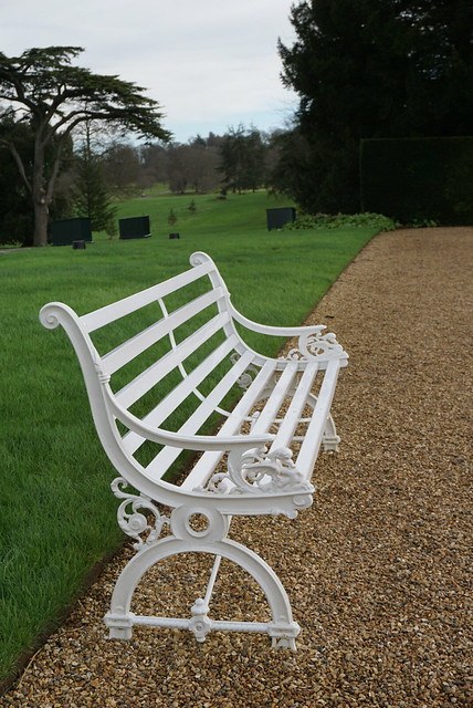 Bench at Kingston Lacy
