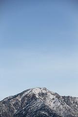 Mt. Baldy (3sha2lud) Tags: sky snow mountains nature clouds mt snowy baldy bigbear