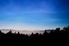 Trail route Barva (catchien) Tags: sea costa clouds rica trail barva