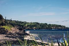 Black Sand Beach (Iqra.S) Tags: beach hawaii maui roadtohana 2015 lavarocks