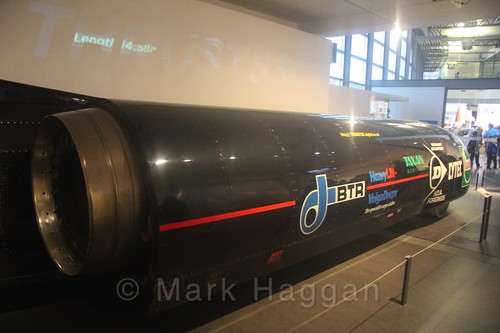 ThrustSSC at Coventry Transport Museum