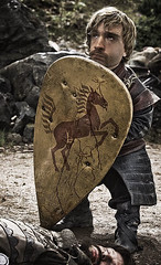 I've Had This Shield Since Middle School (pooshda) Tags: photomanipulation photoshop funny armor shield littleguy tyrion gameofthrones lannister