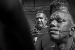 Witness (tylerkingphotography) Tags: street travel portrait people blackandwhite orange india man color colour monochrome face look festival lens temple person photography eyes nikon southeastasia glare photographer outdoor candid indian religion watching culture piercing celebration explore caves event human backpacking malaysia stare kit kualalumpur 1855mm traveling tradition devotee hindu hinduism amateur bnw batucaves thaipusam malay witness kavadi lordmurugan d3100