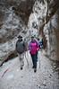 Passaggio nella forra delle Gole di Fara San Martino (CH) - Majella - Abruzzo - Italy
