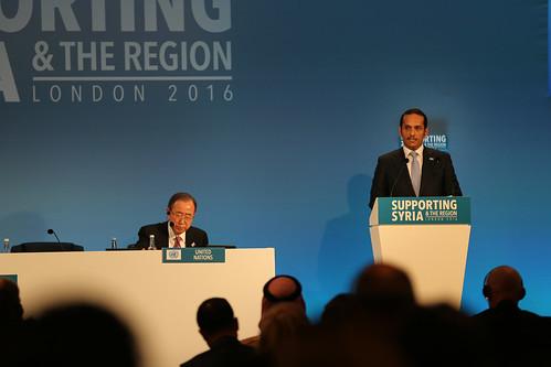 HE Sheikh Mohammed bin Abdulrahman bin Jassim Al-Thani, Foreign Affairs Minister, Qatar