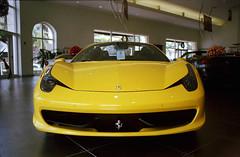 Ferrari 458 yellow (tomyb64flick) Tags: car yellow race super ferrari