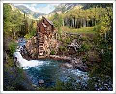 Crystal Mill (Dances With Light) Tags: wood autumn mountains mill water river colorado crystal aspen dwl danceswithlight