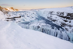 Gullfoss (scrappydoggy) Tags: canon landscape iceland pretty gullfoss goldencircle 1635 1635mm gullfosswaterfall 5dmarkiii