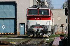 757 001 3 @ Zvolen Depot - Slovakia (uksean13) Tags: canon 4 transport engine rail railway depot slovakia locomotive zvolen ef28135mmf3556isusm zssk 7570013