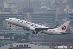 Fukuoka Airport 2016.1.17 (36) JA325J / JAL's B737-800 (double-h) Tags: airplane jal b737   fuk  b737800 fukuokaairport  rjff ja325j eos7dmarkii ef100400mmf4556lisiiusm accinfukuoka