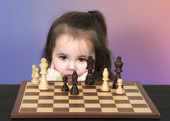Displeased (Joe P Regan) Tags: concentration trapped toddler serious theend chess competition planning thinking learning frustration strategy struggle determination decisions intent skill uncertainty displeased individuality coolattitude