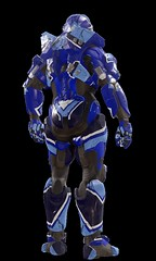 "Halo-5-Guardians-Stalker-Arrow-Blue-Back • <a style=""font-size:0.8em;"" href=""http://www.flickr.com/photos/118297526@N06/24579581285/"" target=""_blank"">View on Flickr</a>"