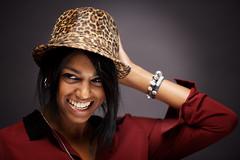 SARAH IN A HAT (mister evans) Tags: portrait girl beautiful hat nikon diffuser strobe lastolite strobes modifier sb900 nikond800 sb700