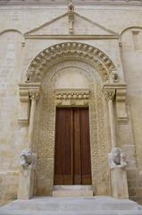 Duomo di Matera (iltorosanto) Tags: sculpture chiesa porta duomo matera cornice scultura portale bassorilievo