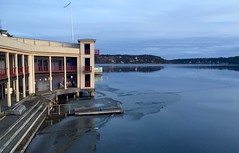After Icedip (David Abresparr) Tags: cold ice is stockholm jetty brygga saltsjbaden kallbadhus kallt badhus isbad vinterbad kallbad